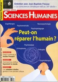 Martine Fournier - Sciences Humaines N° 335, mars 2021 : Peut-on réparer l'humain ?.