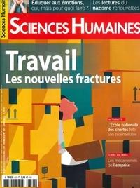 Héloïse Lhérété et Christophe Rymarski - Sciences Humaines N° 337, juin 2021 : Travail - Les nouvelles fractures.