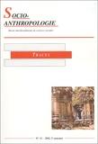 Collectif d'auteurs - Socio-anthropologie N° 12, 2e Semestre 2 : Traces.
