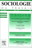 Elsevier - Sociologie du travail Volume 42 n° 2 avril : L'engagement du sociologue.
