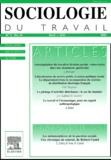 Elsevier - Sociologie du travail Volume 43 N° 2, Avri : .
