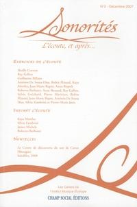 Anne Mariétan - Sonorités N° 2 : L'écoute, et après.