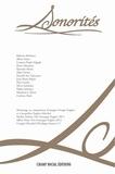 Pierre Mariétan et Roberto Barbanti - Sonorités N° 7, septembre 2012 : Ecologie sonore entre sens, art, science.
