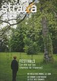 Julie Bordenave - Stradda N° 13, Juillet 2009 : Festivals, un été sur les chemins de traverse.