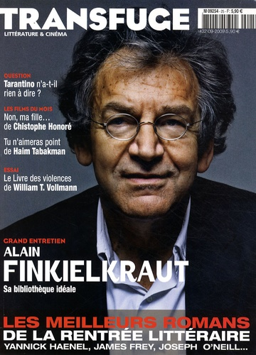 Vincent Jaury et Alain Finkielkraut - Transfuge N° 32, Septembre 200 : Alain Finkielkraut.