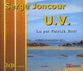 Serge Joncour - U.V.. 3 CD audio