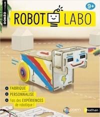 Pollen robotics - Coffret Robot labo - Pour apprendre les bases de la robotique sans ordinateur.