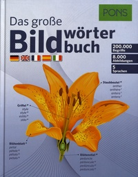 Pons - Das grosse Bildwörterbuch.