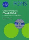 Pons - PONS - Grosswörterbuch Französisch-Deutsch / Deutsch-Französisch - Extraheft Französisch Aktiv. 1 Cédérom