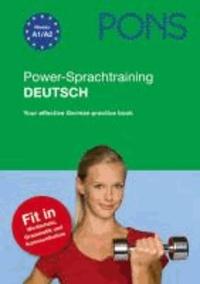 Goodtastepolice.fr PONS Power-Sprachtraining Deutsch als Fremdsprache - Das erfolgreiche Übungsprogramm. Your effective German practice book Image