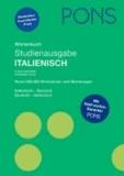 PONS Studienausgabe Italienisch - Italienisch-Deutsch/Deutsch-Italienisch. Rund 200.000 Stichwörter und Wendungen.