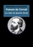 Ponson DU TERRAIL - Les Nuits du Quartier Bréda - Roman social.
