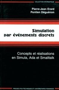 Pontien Déguénon et Pierre-Jean Erard - Simulation par événements discrets.