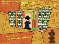 Popcards Factory - Les héros de l'ordinaire - Solange et la cabine d'essayage mystérieuse.