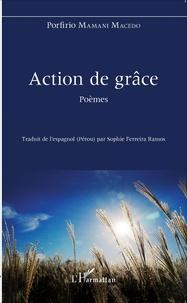 Porfirio Mamani Macedo - Action de grâce.