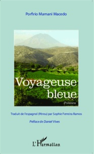 Porfirio Mamani Macedo - Voyageuse bleue.