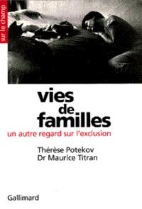 Potekov et  Titran - Vies de familles - Un autre regard sur l'exclusion.