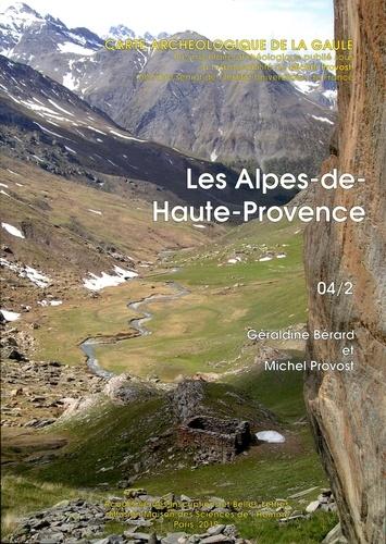 Pr Berard geraldine et Michel Provost - 04/2. les alpes-de-haute-provence. carte archeologique de la gaule.