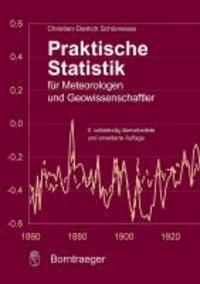 Praktische Statistik für Meteorologen und Geowissenschaftler.