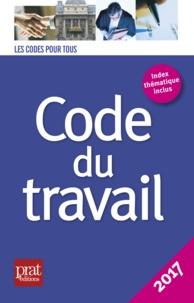 Prat Editions - Code du travail.