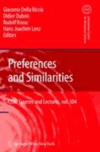Preferences and Similarities.