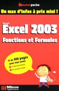 Deedr.fr Excel 2003 - Fonctions et Formules Image