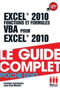 Premium consultants - Excel 2010 Fonctions et Formules & VBA.
