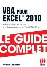 Premium consultants - VBA pour excel 2010.