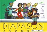 Presses d'Ile-de-France - Diapason Jaune - Tome 1.