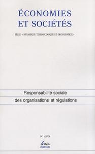 Christian Le Bas - Economies et sociétés N° 1/2008 : Responsabilité sociale des organisations et régulations.