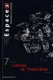Observatoire de l'Espace - Espace(s) N° 7 : Limites et frontières.