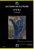 Julien Blaine - Les cahiers de la 5e feuille N° 6 et 7 : .