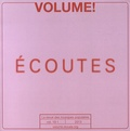 Jedediah Sklower - Volume ! 10 N° 1, 2013 : Ecoutes.