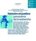 Presses universitaires de Rennes - Hors-série | 2001 - Histoire et justice, panorama de la recherche - RHEI.