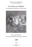 Anne-Simone Dufief et Jean-Louis Cabanès - RITM N° 33 : Le roman au théâtre - Les adaptations théâtrales au XIXe siècle.