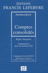 Comptes consolidés- Règles françaises, comparaison avec les normes IAS, 3ème édition -  PriceWaterhouseCoopers |
