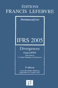 Checkpointfrance.fr IFRS 2005 - Divergences France/IFRS Image