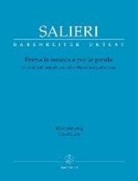 Prima la musica e poi le parole - Divertimento teatrale in un atto. Operetta a quattro voci. Libretto von Giambattista Casti. Klavierauszug.