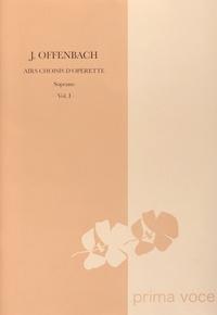Jacques Offenbach - Airs choisis d'opérette - Soprano Volume 1.