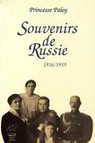 Princesse Paley - Souvenirs de Russie (1916-1919).
