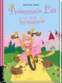 Prinzessin Lia ist nicht zu bremsen.