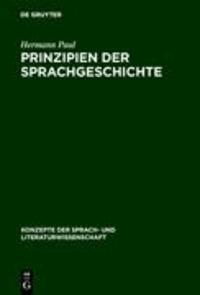 Prinzipien der Sprachgeschichte.