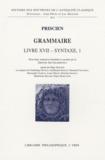 Priscien - Grammaire - Livre XVII Syntaxe 1.