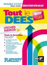 Priscilla Benchimol et Jean Baptiste Henry - Tout le DEES en fiches mémos - Diplôme d'état Educateur spécialisé - Révision.