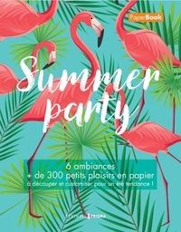 Accentsonline.fr Summer party - 6 ambiances, + de 300 petits plaisirs en papier à découper et customiser pour un été tendance! Image