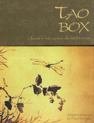 Priya Hemenway - Tao box - 1 livret + 50 cartes de méditation.