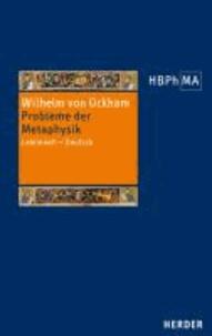 Probleme der Metaphysik - Lateinisch - Deutsch.