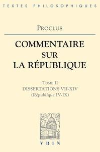 Proclus - Commentaires su la République T2.