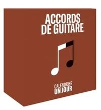 Meilleur téléchargement d'ebook collection Calendrier un jour Accords de guitare 9782812318863