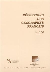 PRODIG - Répertoire des géographes français 2002.